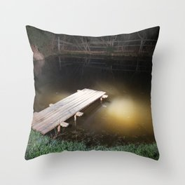Crossing the Threshold between Life and Death Throw Pillow