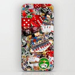 Gamblers Delight - Las Vegas Icons iPhone Skin