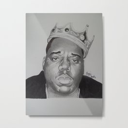 notorious BIG  Metal Print