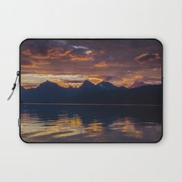 Sunrise Glacier National Park - Lake McDonald Laptop Sleeve