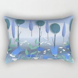 Treescape 2 Rectangular Pillow