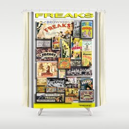 FREAKS HD iamjohnlgan Shower Curtain