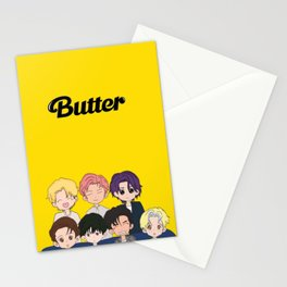 BTS BUTTER  Stationery Cards