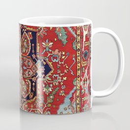 Heriz  Antique Persian Rug Print Coffee Mug