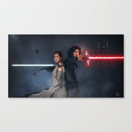 Back to Back Canvas Print