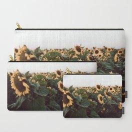 Sunflower field III Carry-All Pouch