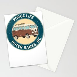outerbanks nc - pogue life Stationery Cards