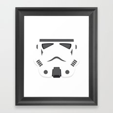 Storm Trooper - Starwars Framed Art Print