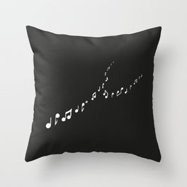 sounds of the night Throw Pillow