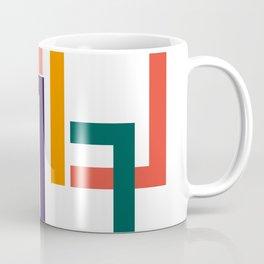 Modern geometric minimal mid century Coffee Mug