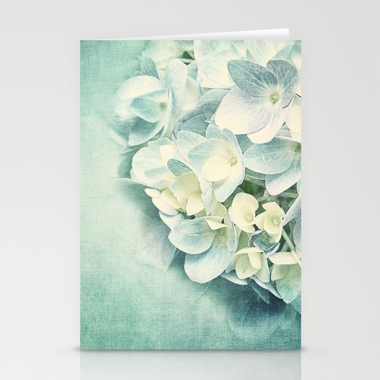 MINT HYDRANGEA Stationery Cards