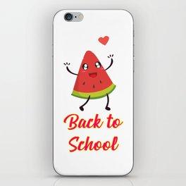 Back to School Watermelon Design iPhone Skin