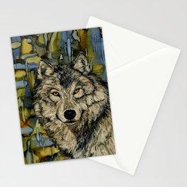 Wolf eyes Stationery Cards