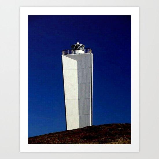 Cape Jervis Lighthouse #1 Art Print