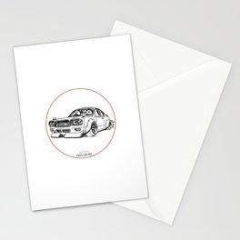 Crazy Car Art 0079 Stationery Cards
