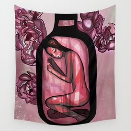 Rosé Wall Tapestry