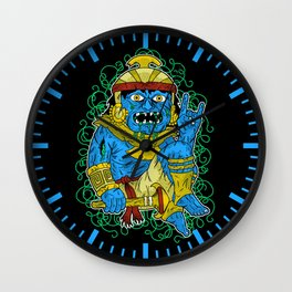 Z Mochica Warrior Wall Clock