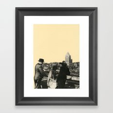 Views Across Vancouver Framed Art Print
