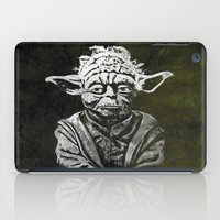 yoda iPad Cases featuring Yoda by Some_Designs
