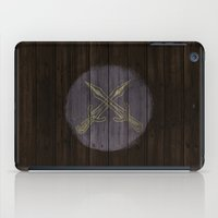 skyrim iPad Cases featuring Shield's of Skyrim - Riften  by VineDesign