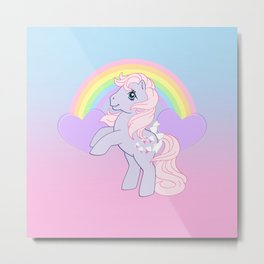 g1 my little pony lickety split Metal Print