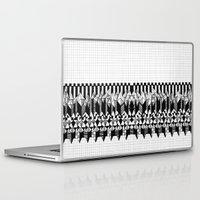 notebook Laptop & iPad Skins featuring School notebook  by Eva Bellanger