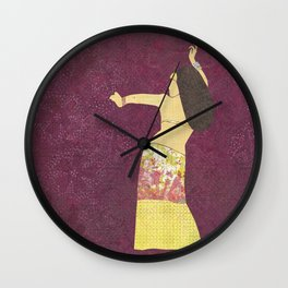 Belly dancer 2 Wall Clock