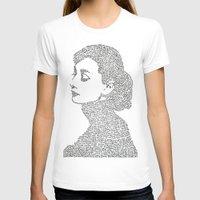 audrey hepburn T-shirts featuring Audrey Hepburn by S. L. Fina