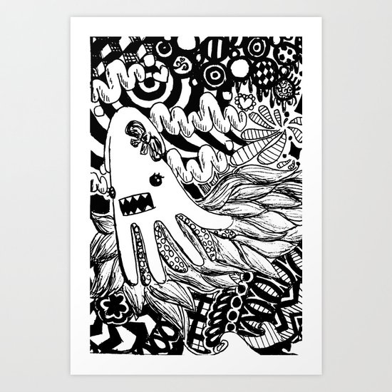 squid, redefined Art Print