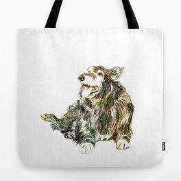Ria Sheep Dog Tote Bag