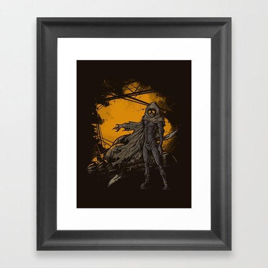 SPICE HARVESTER Framed Art Print