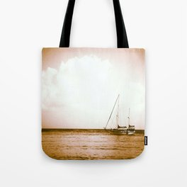 Ships Ahoy Tote Bag
