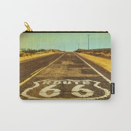 Route 66 Road Marker Carry-All Pouch