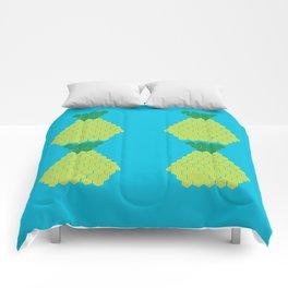 Puzzled Pineapple Comforters