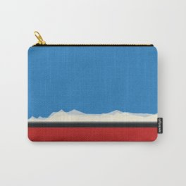 Red Train Carry-All Pouch