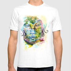 Fairy Tale Mens Fitted Tee White MEDIUM