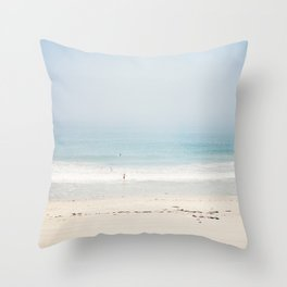 Sun and Fun Redondo Beach Throw Pillow