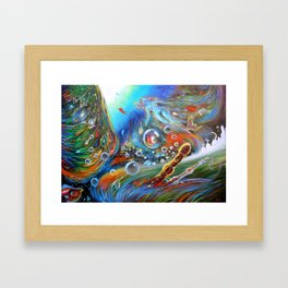 """""""Il Buon Umore"""" (The Good Humor) Framed Art Print"""