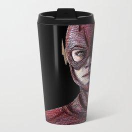 I Am The Flash Metal Travel Mug