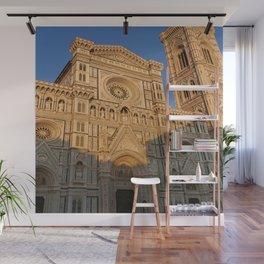 Duomo di Firenze During the Golden Hour Wall Mural