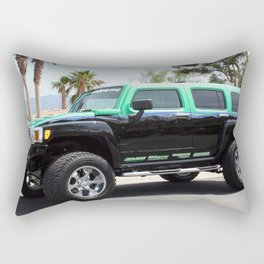 Green Envy Rectangular Pillow