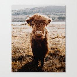 The Hairy Highlander Canvas Print