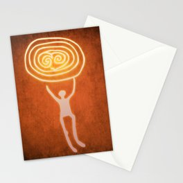 Carry the sun Stationery Cards