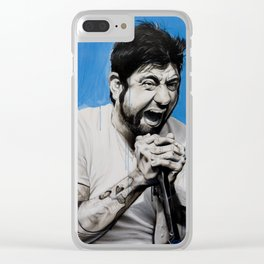 'Chino Moreno' Clear iPhone Case