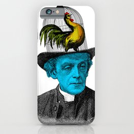 Jaula sombrero iPhone Case