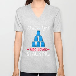 Speed Stacks Gift Stack Master Stacking Cup Unisex V-Neck