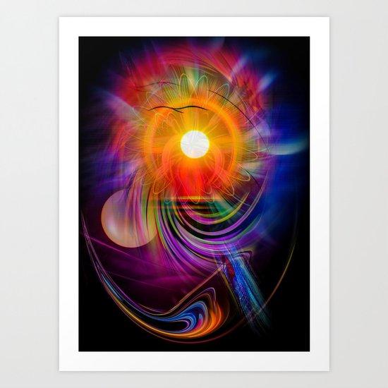 Abstract - Perfkektion - Sunset Art Print