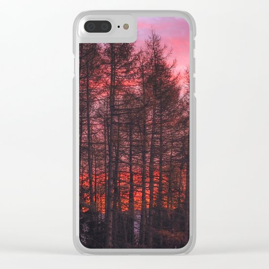 Monte Stivo, Italy Clear iPhone Case