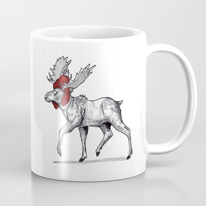 Canada 150 - Tuque Moose Coffee Mug