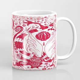 Double Dragons Coffee Mug
